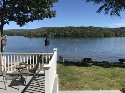 Photo for Newfound Lakefront Home!