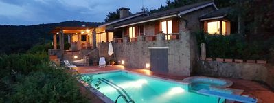 Photo for Stunning Villa with swimming pool and view on the sea