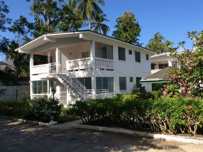 Photo for Excellent location 40 m from beautiful beach! Comfortable apartment with A/C