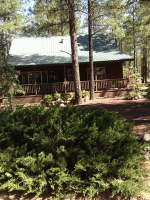 Photo for Beautiful cabin in a country club by the forest