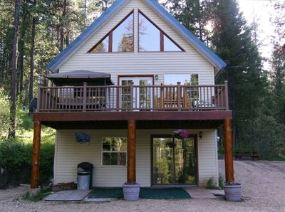 ONE OF A KIND WITH A PRIVATE MOUNTAIN SETTING. VERY PRIVATE AND NEAR BOISE ID