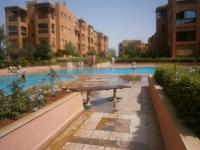Photo for Seaside apartment, in green park, swimming pools, beach 300 m.