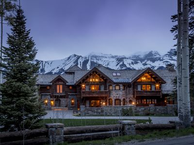 Photo for Incredible estate in Mountain Village, grotto with a hot tub, ski in/ski out, home theater: Castlewood