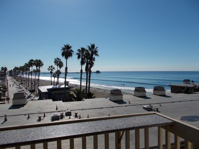 Photo for D204 SPECTACULAR VIEWS! WAVES/BEACH/PIER FROM EVERY ROOM! STEPS TO BEACH