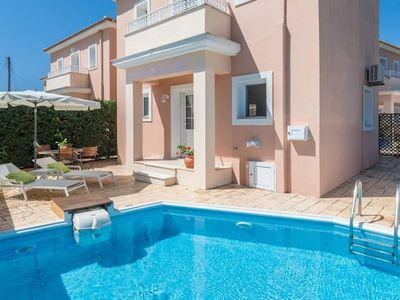 Photo for Set in the beautiful resort of Agios Sostis Villa Koukla is a two bedroom split level villa that can
