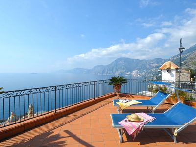 Photo for Casa Giulio located in the small village of Praiano on the Amalfi coast,  3 bedrooms, 6 sleeps.