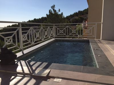 Photo for SUPERB VILLA 6 PERS PANORAMIC VIEW, SWIMMING POOL, 10 MINUTES FROM THE BEACHES