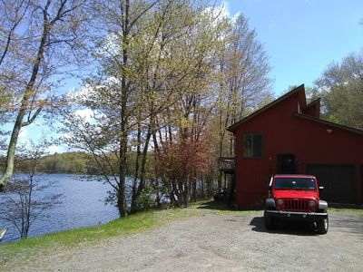 Photo for Waterfront 7 Bedroom  Home Sleeps 12 w/beach  Pet Friendly