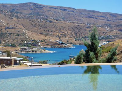 Photo for Spacious villa with a swimming pool in the area of Koundouros, Kea