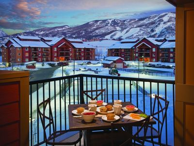 Photo for Two Bedroom Luxury Condo, Steamboat Springs (1756797)