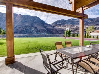 Photo for Spacious waterfront home w/ lawn, basketball court, &  Fantastic Views!