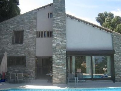Photo for 300 M2 villa, pool, close to the beach on foot, Saint-Florent, Corsica