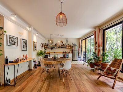 Photo for Apartment 3 bedrooms artist desing in the heart of CONDESA