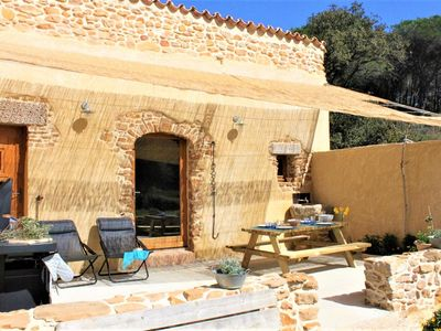 Photo for A cottage SENTEURS DE GARRIGUE offers peace and quiet in a corner of nature