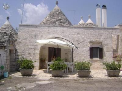 Photo for TRULLO  IS A TIPICAL HOUSE NEAR  THE MOST BEAUTIFUL BEACHES IN  PUGLIA
