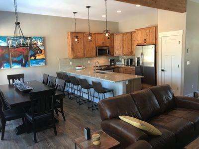 Photo for BRAND NEW | Beautiful 3 Bd Townhome | Central Location | Sleeps 10 | Views!