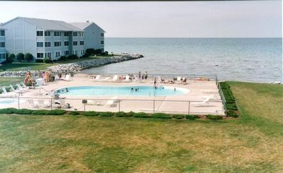 Photo for Condos Located on LAKE ERIE with beach, pool & in Port Clinton. Near Jet Express