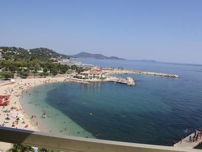 Photo for Holiday rentals Toulon Apartment beach Mourillon