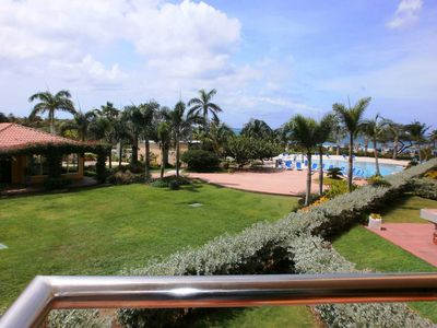 Your view from your one of the three balconies