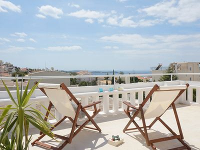 Photo for 1BR Apartment Vacation Rental in Voula