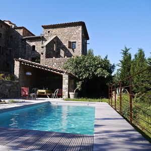 Photo for Ancient Cévennes Farmhouse with character at the foot of the Cevennes with Pool