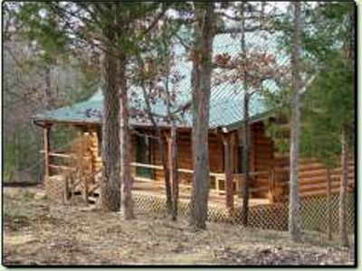 Photo for Secret Cove - a quiet Oklahoma vacation cabin rental