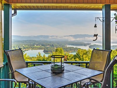 Photo for 'Chatuge Overlook' Hiawassee House w/ Views!