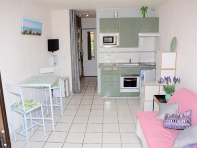 Photo for Apartment Port Barcares, studio flat, 2 persons
