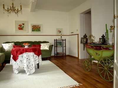Photo for Summer vacation house with nostalgic flair for romantics and those seeking tranquility
