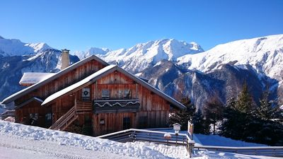 Photo for Luxury loft 160m2, 7 persons, unique view, Villard-Reculas / Alpe d'Huez