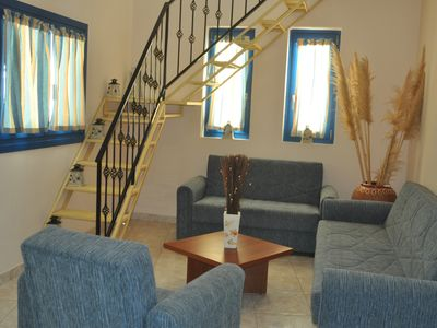 Photo for Arkasa Palace Boutique Hotel - Maisonette Two Bedroom Pool & Sea View