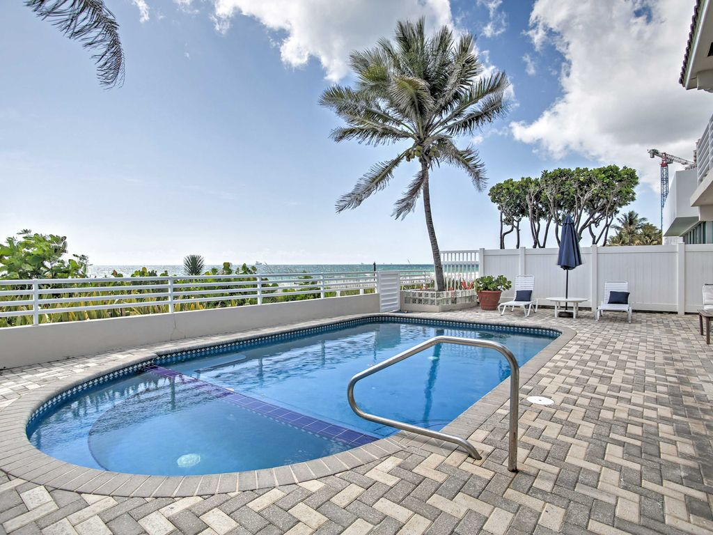 New Beachfront 3br Fort Lauderdale House W Pool 4616321
