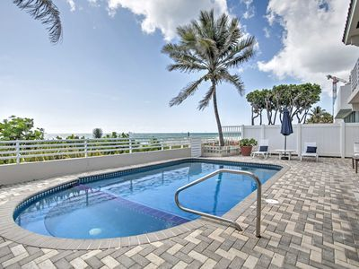Photo for Beachfront Fort Lauderdale House w/Private Pool!