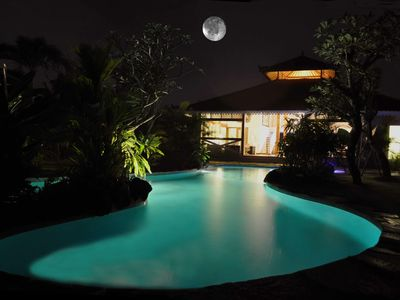 Photo for Big family villa - Seminyak Oberoi beach area - Up to 12 people