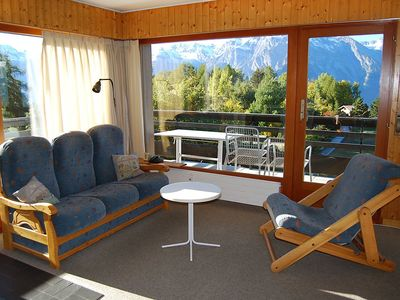 Photo for 1BR Apartment Vacation Rental in Haute-Nendaz