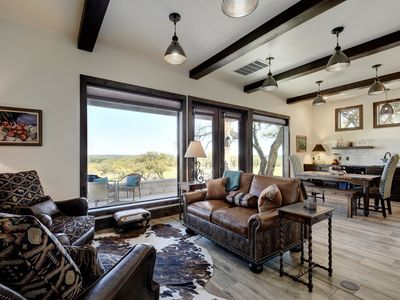 Photo for Romantic Getaway Professionally Designed and Decorated w/Hot Tub & Views!