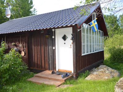 Photo for Traditional Swedish log house in quiet village