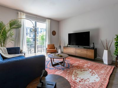Photo for Black Swan | Heart of Downtown | Midcentury w/ Patio