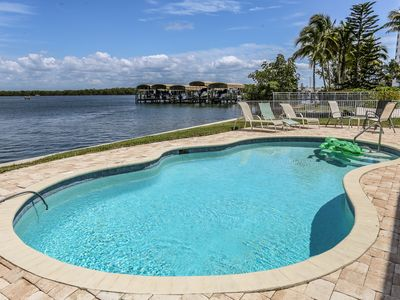 Photo for 3/2 home with awesome views and new pool right on the Bay