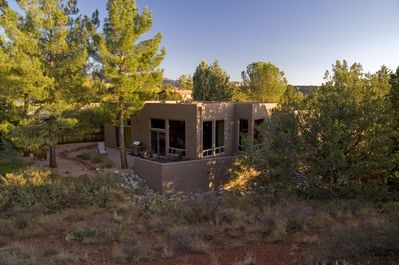 Javelina Haven is set at the base of a small, quiet canyon.