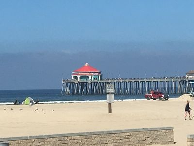 Take a walk on the HB Pier and stop for lunch at Ruby's.