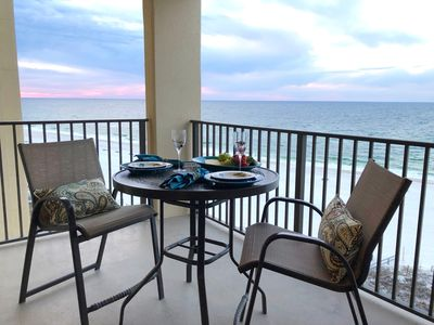 Photo for Affordable 7th Fl. Ocean Front Balcony! WiFi, AC, Pools, Grills, Hot Tub, Tennis