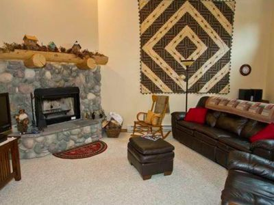 Photo for Condo in the pines with mountain views with large private decks!