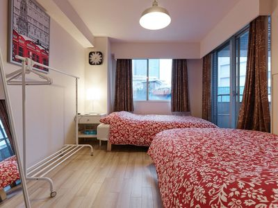 Photo for AKASAKA & ROPPONG - 2 Double Beds in Small Studio #9