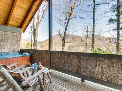 Photo for Appalachian Sunset is a one bedroom and one bathroom chalet