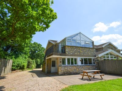 Photo for A stunning apartment on farmland with views of beautiful greenery, and yet just 7 miles from Cardiff