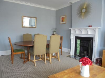 Photo for Lovely Spacious and airy apartment within walking distance to the beach and town