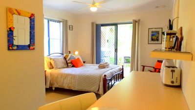 Photo for Beach side self contained 1 b/room ensuite walk to gnarabup beach + bikes sboard