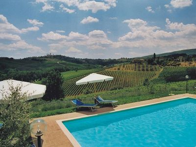 Photo for Casa Pozzo, surrounded by greenery, just a few km from San Gimignano, ideal for couples