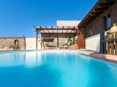Photo for Luxury Pool Chalet